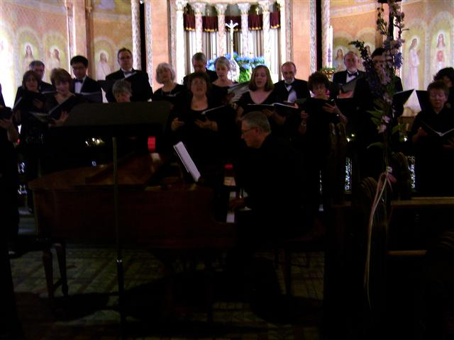 The Freudig Singers at Blessed Trinity.