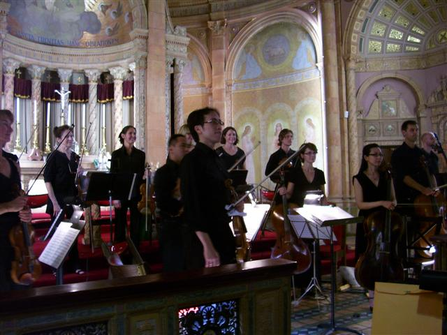 The Camerata di Sant' Antonio in concert at Blessed Trinity. Photo credit: Margaret Dick