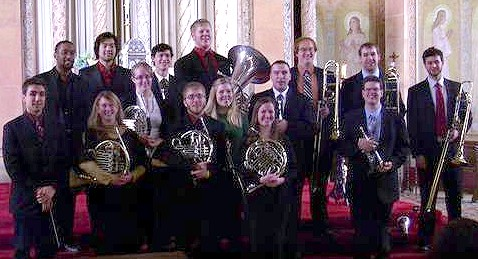 "The Buffalo Brass Choir opens the 2013-14 Trinity Series with ""Fanfares and Fugues"" at 3 p.m. on Sunday, October 6,"
