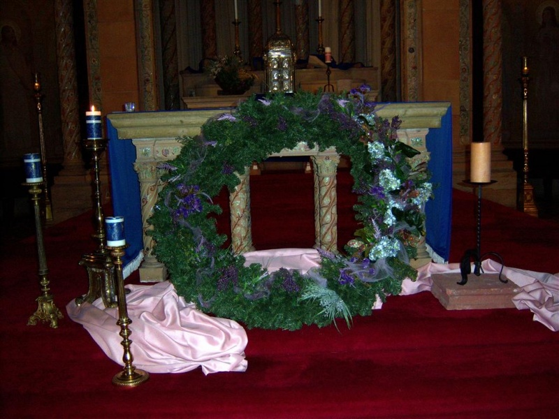Photo by Margaret Dick: 2012 Advent Wreath