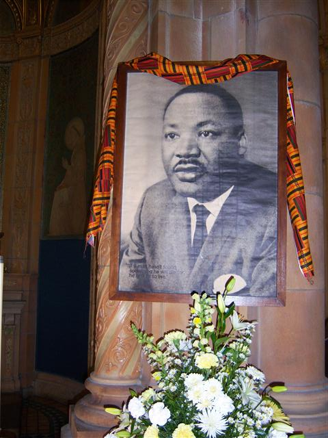 DIOCESAN MASS CELEBRATION MARTIN LUTHER KING, JR. Sunday, January 18, 2015 at 10:30 a.m. Blessed Trinity Church
