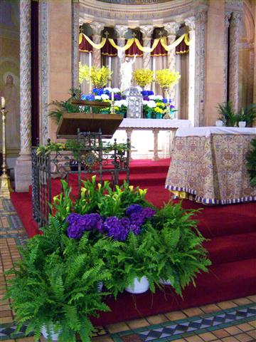 Easter Sanctuary. Photo credit: Margaret Dick.