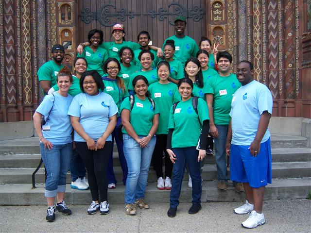 UB Pride and Service Day volunteers. Photo credit: Margaret Dick.