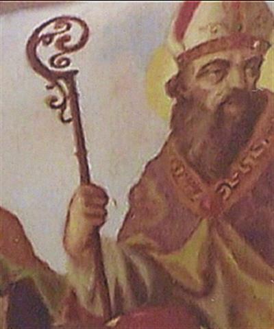 St. Augustine (354-430) Bishop of Hippo (present day Algeria)