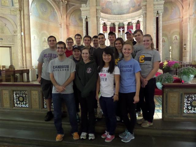 Canisius College Accounting Society at Blessed Trinity.