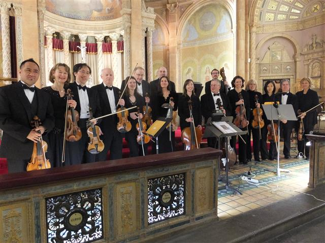 The Camerata di Sant' Antonio in concert at Blessed Trinity March 29, 2015