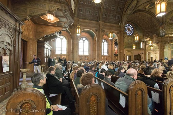 Mass Mob IX at Blessed Trinity March 22, 2015
