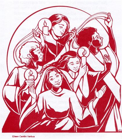 """Celebrating Women Witnesses"" Sunday, March 6, 2016 following 10 AM Mass."