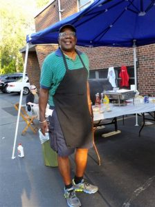 "We had the greatest grill men for ""Summer in the City"" on Aug. 2nd!"