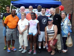 "Just some of our stalwart volunteers from ""Summer in the City,"" Aug. 2, 2016."
