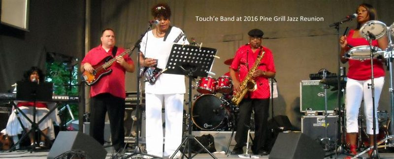 Touch'e Band at 2016 Pine Grill Jazz Reunion