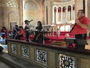Charles Reedy and the Touch'e Band at Blessed Trinity.