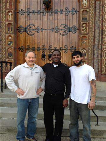 Father Victor Ibhawa made his move to Blessed Trinity with the help of friends from his former parish, St. Vincent de Paul in Niagara Falls.