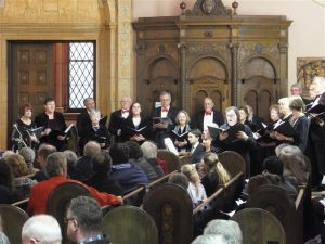 The Freudig Singers performing at Blessed Trinity in December 2015