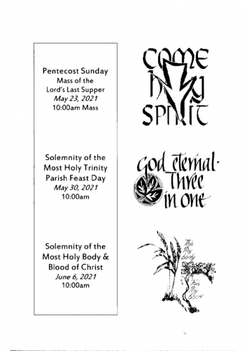 Special Feast Days
