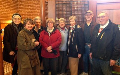 Church Docents Tour Martin House