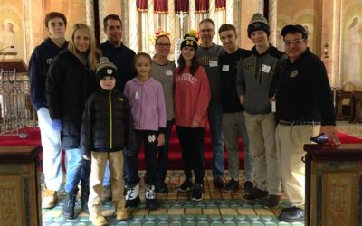 Canisius High School Volunteers Aid Blessed Trinity